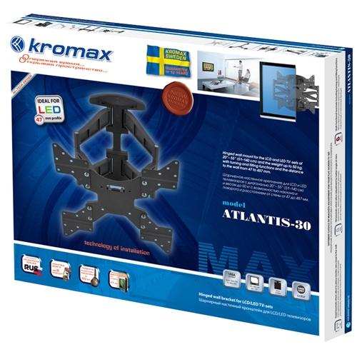 Кронштейн с наклоном и поворотом kromax