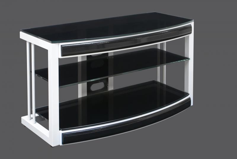 Тумбочки стекло под телевизор фото