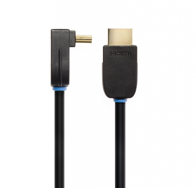 Кабель для подключения Tech Link WiresNX2 Right Angled HDMI A Plug to HDMI A Plug (710495) 5.0 m